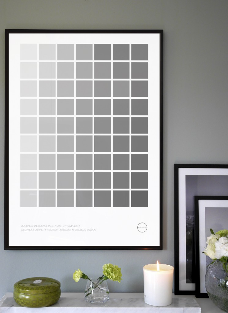 Inspirationsbild Color Palette Gray